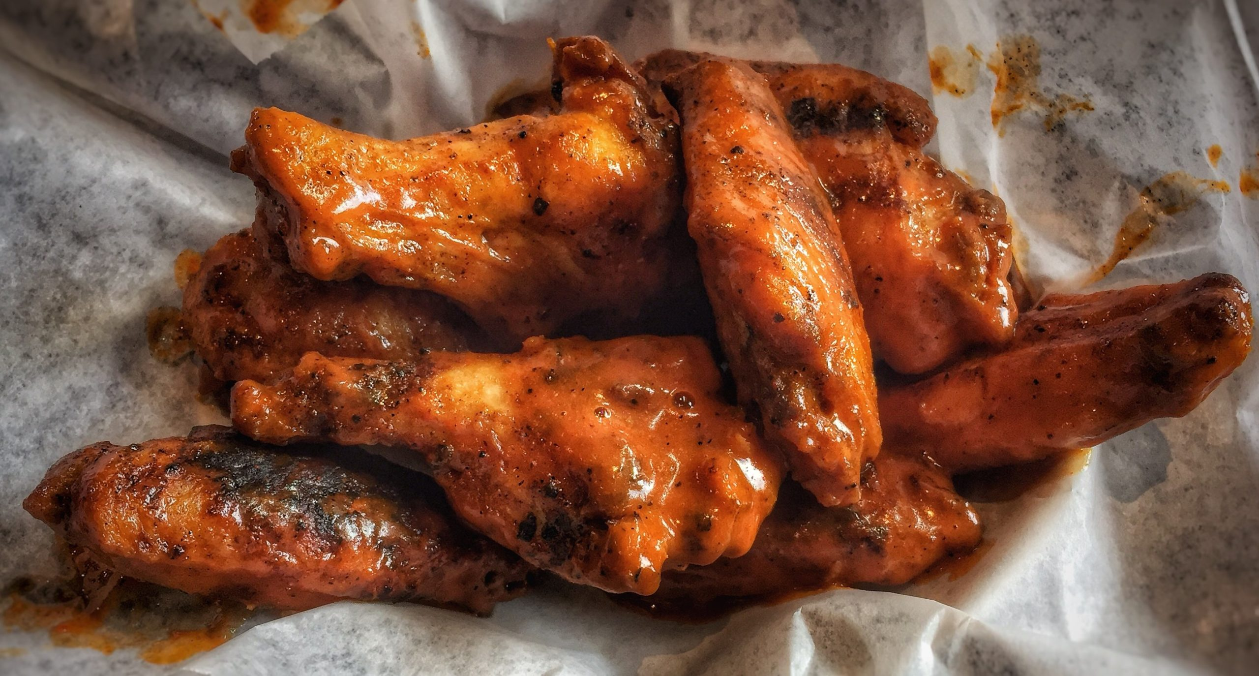 Grilled Buffalo Chicken Wings