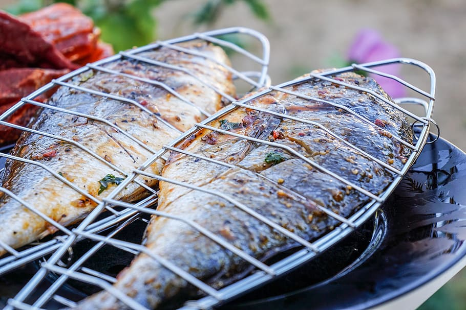 Barbecued Sea Bream