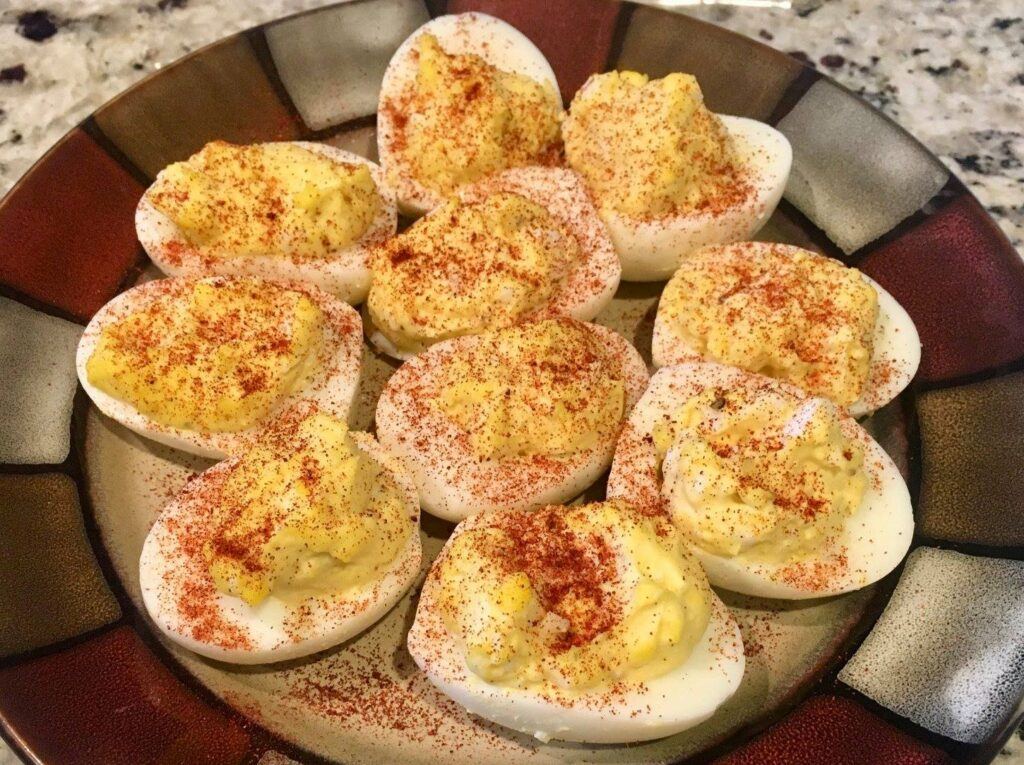 Using Paprika on Your Smoked Deviled Eggs is Another Great Choice